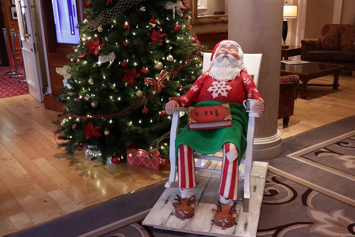 Christmas hotel stays